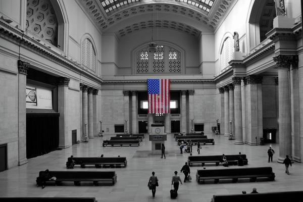 Chicago Union Station Print by Sheryl Thomas
