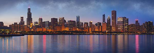 Chicago's Beauty Print by Donald Schwartz