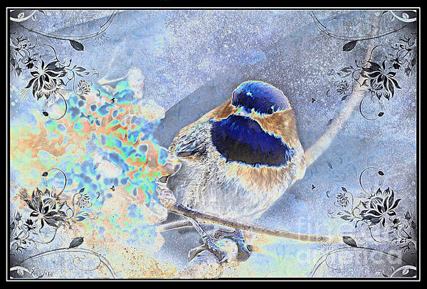 Debbie Portwood - Chickadee Breakfast photoart