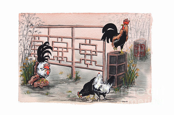 Nancy Pahl - Chickens at the Gate