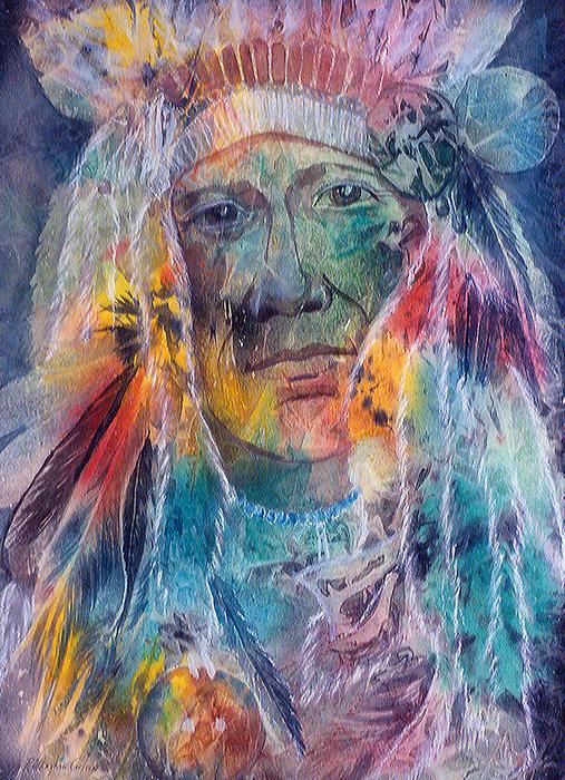Patricia Allingham Carlson - Chief Two Moons I