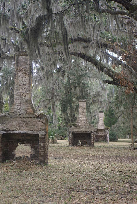 Glenda Barber - Chimneys of Slave Cabins