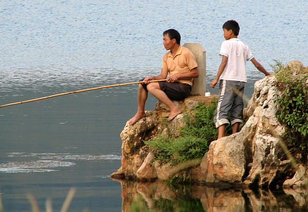 Carla Parris - Chinese Fishermen
