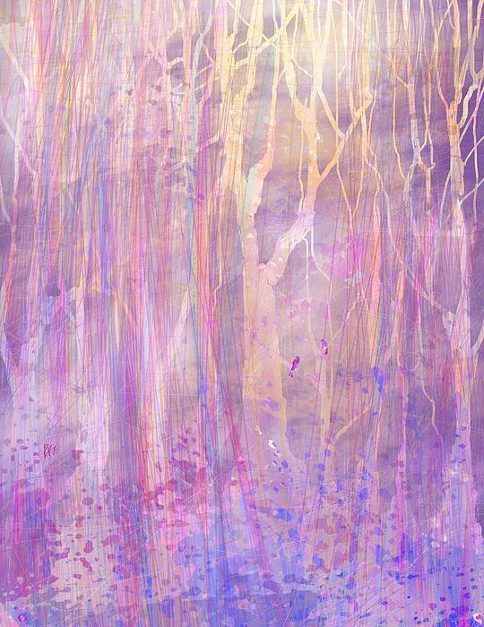 Chitchat Print by Rachel Christine Nowicki