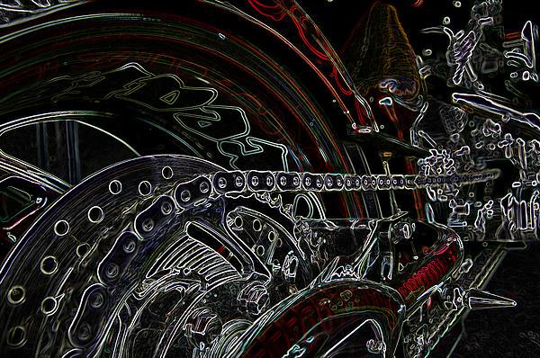 Chopped An Tron'd Print by Travis Crockart