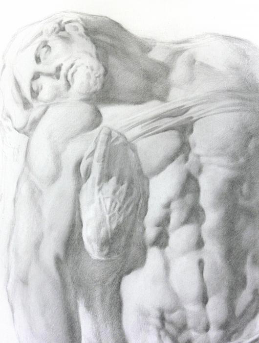 Christ 1a Drawing
