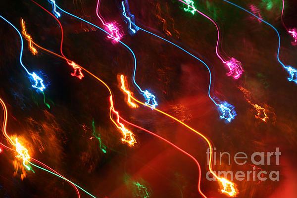 Susan Stevenson - Christmas Light Abstract
