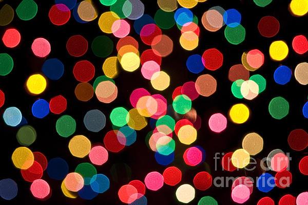 Christmas Lights Print by John Greim