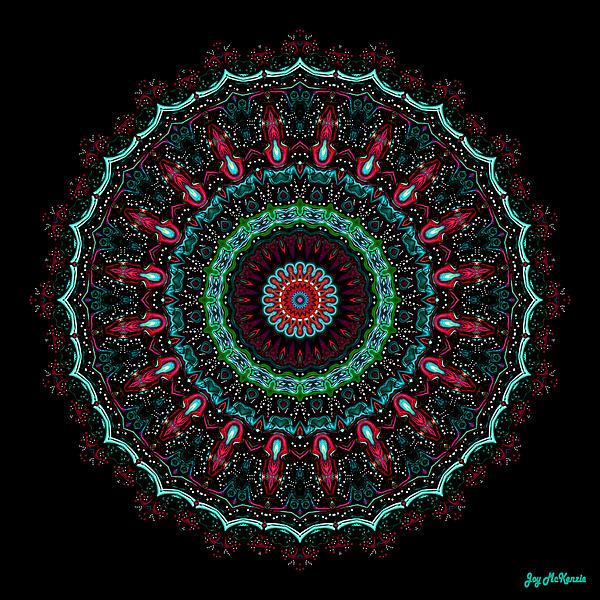 Joy McKenzie - Christmas Wreath Mandala