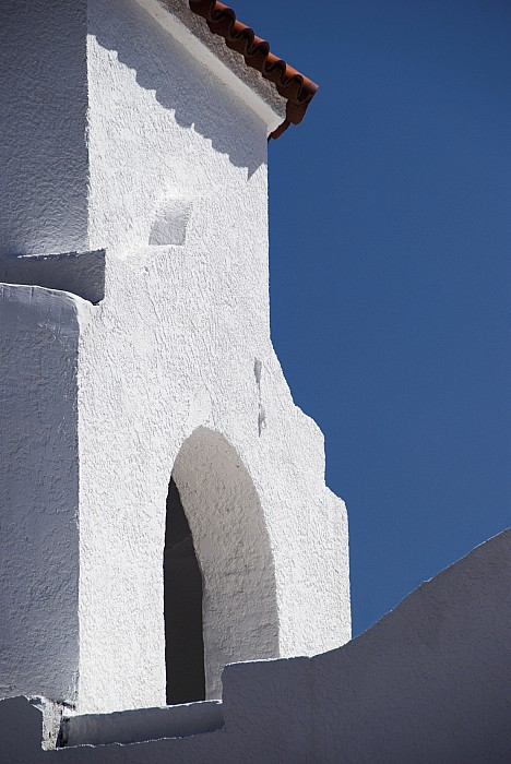 Church Bell Tower Chacras De Coria Print by Philippe Widling