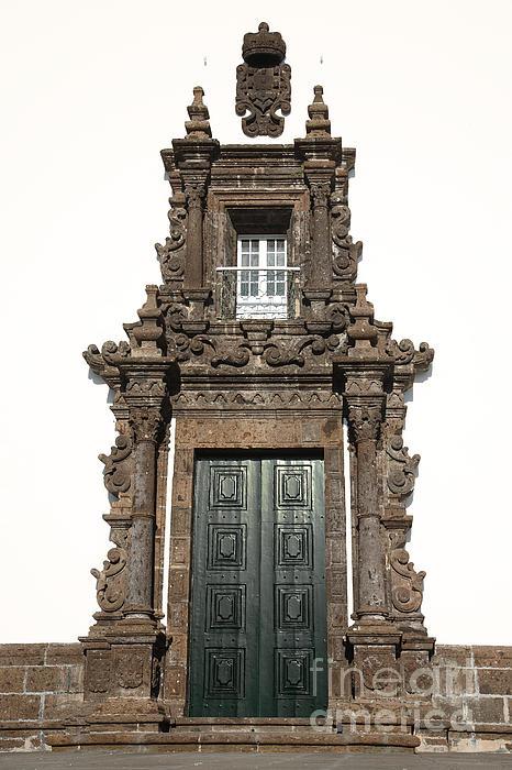 Church Door Print by Gaspar Avila