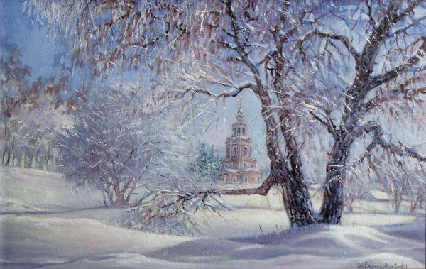 Dmitry Alexandrov - Church in Ubory