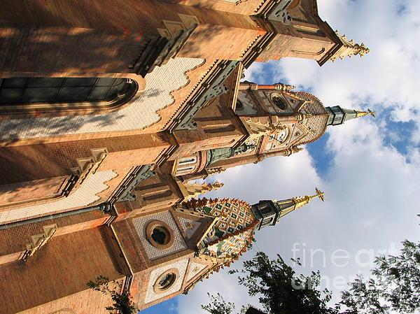 Church Print by Odon Czintos