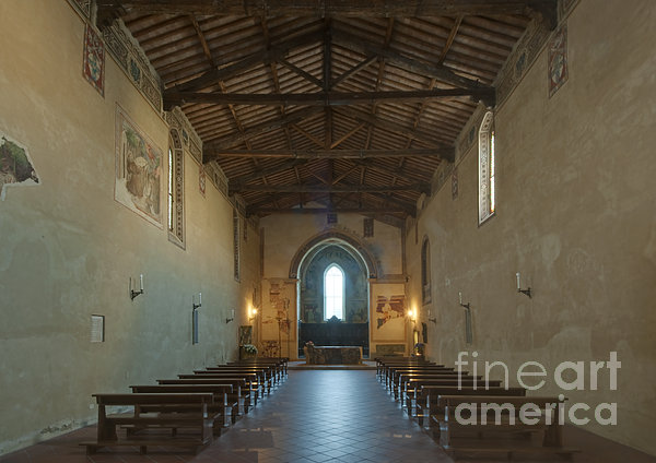 Church Of San Francesco Print by Rob Tilley