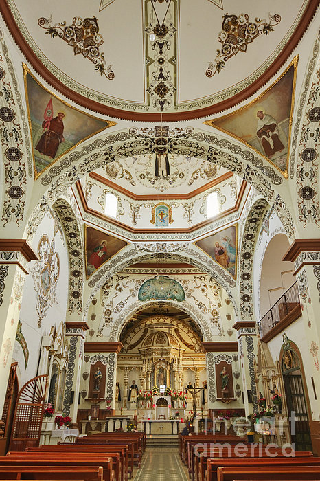 Church Of Santa Domingo De Guzman Print by Jeremy Woodhouse