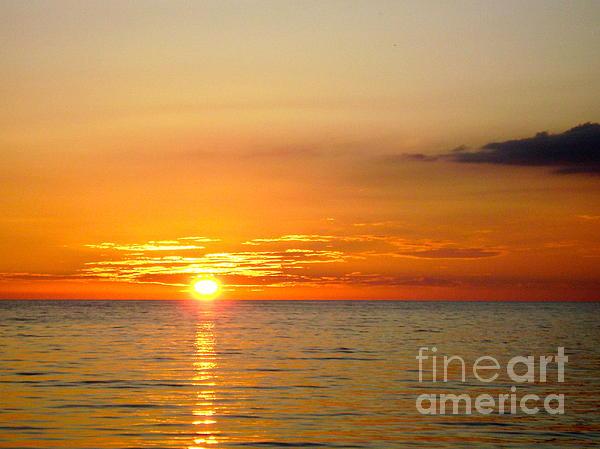 Cienfuegos Sunset Print by Laurel Fredericks