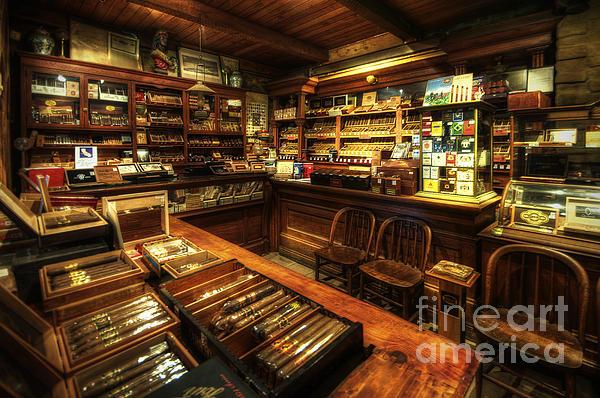 Yhun Suarez - Cigar Shop
