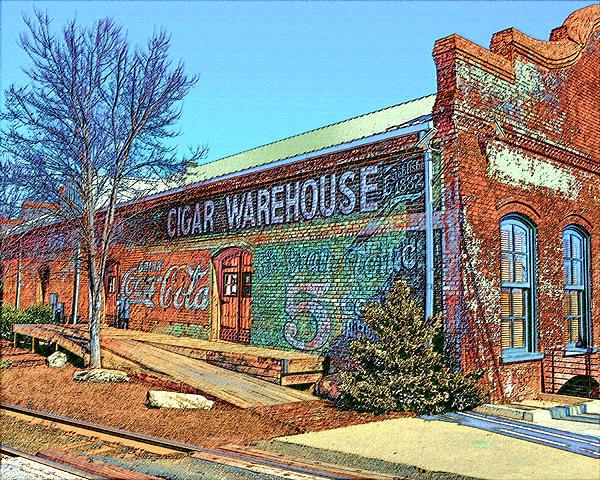 Larry Bishop - Cigar Warehouse Sketch