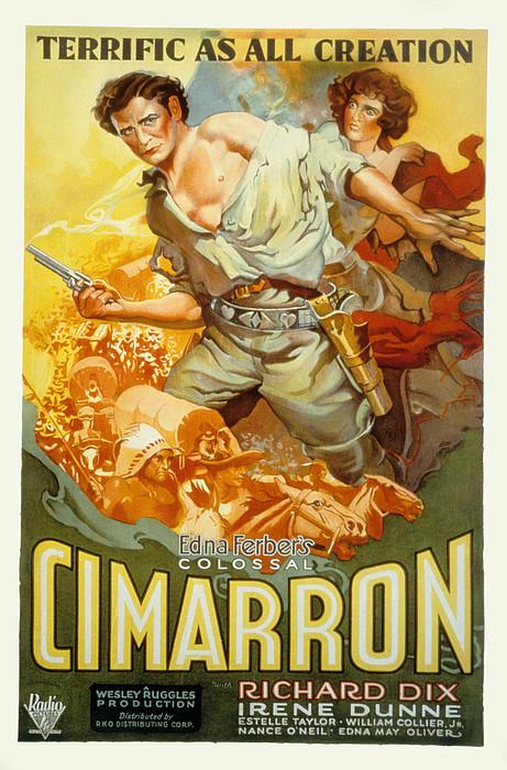 Cimarron, Richard Dix, Irene Dunne, 1931 Print by Everett