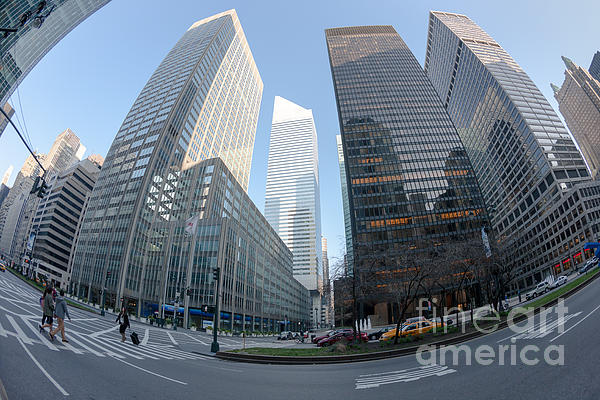 Citigroup Center From Park Avenue I Print by Clarence Holmes