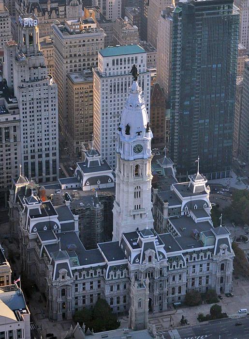City Hall Broad St And Market St Philadelphia Pennsylvania 19107 Print by Duncan Pearson