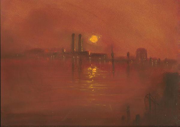 City Mist 3 Print by Paul Mitchell