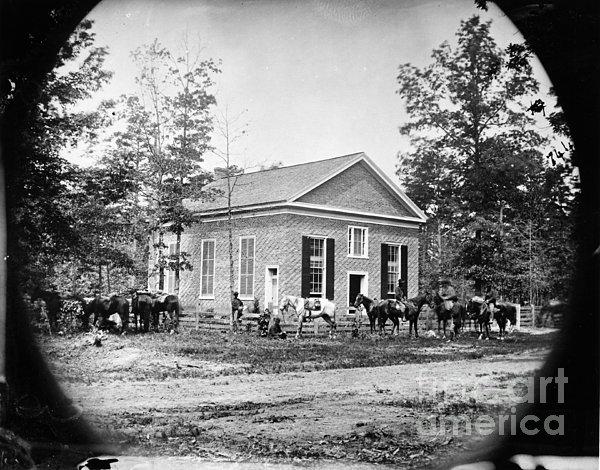 Civil War: Bethel Church Print by Granger