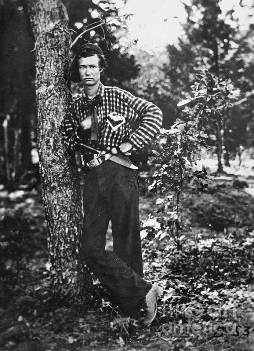 Civil War: Soldier, 1861 Print by Granger