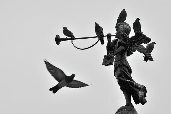 Clarinet Statue Print by CarlosAlbertoPhoto
