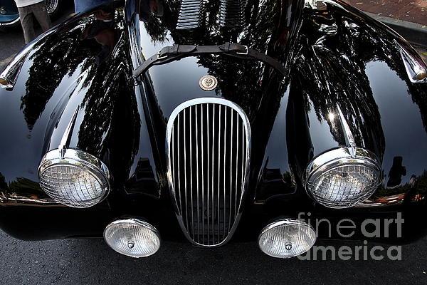 Classic Black Jaguar . 40d9322 Print by Wingsdomain Art and Photography