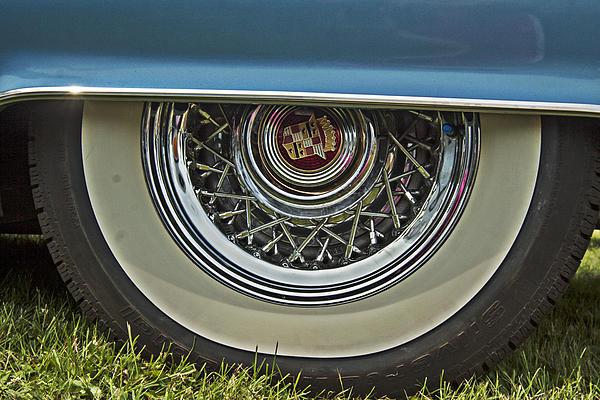 Darleen Stry - Classic Cadillac wheel