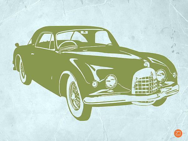 Classic Car Print by Naxart Studio