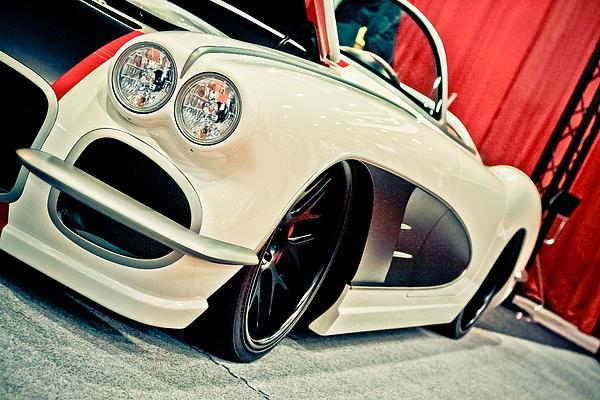 Classic Corvette Print by Merrick Imagery