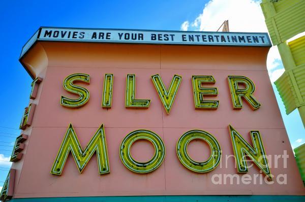 Classic Drive Inn Movie Marquee Print by David Lee Thompson