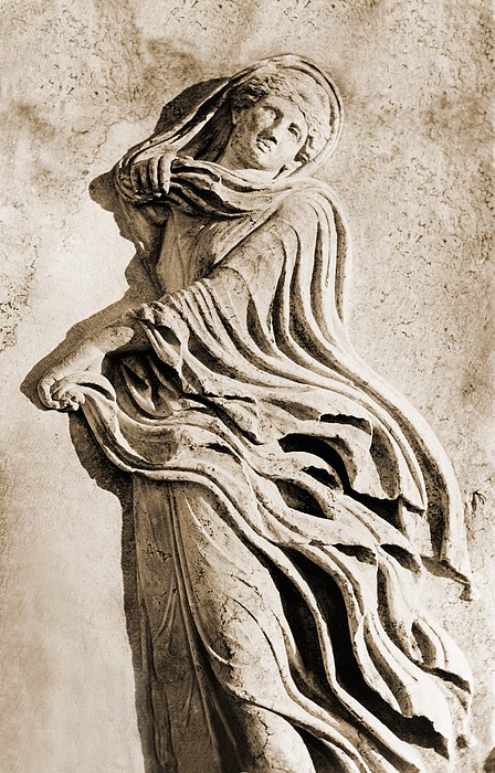 Classical Greek Dancer. Albumen Print Print by Everett