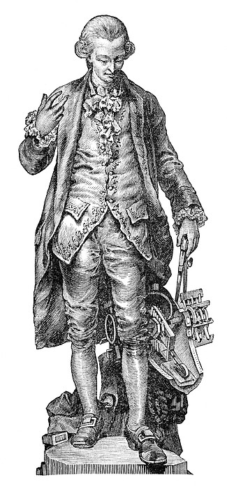 Claude De Jouffroy, French Engineer Print by