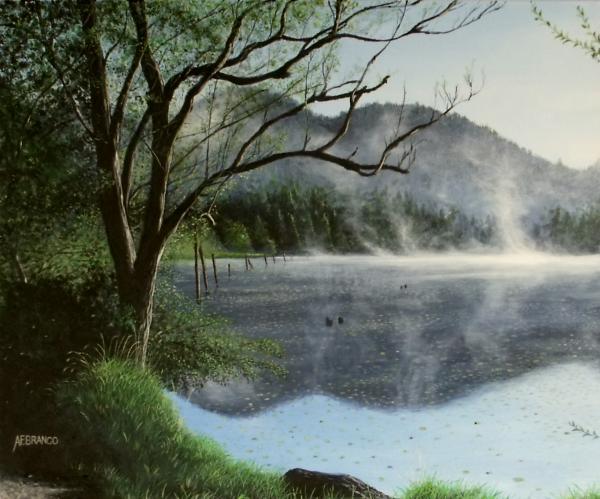 Antonio F Branco - Clear Lake Morning