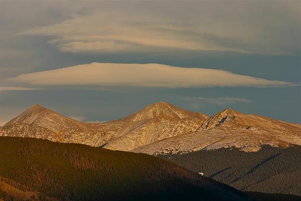 Cloud Cap Print by Bob Berwyn