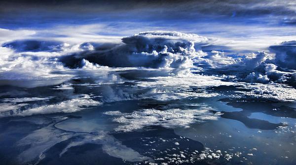 Cloud Formations V2 Print by Douglas Barnard