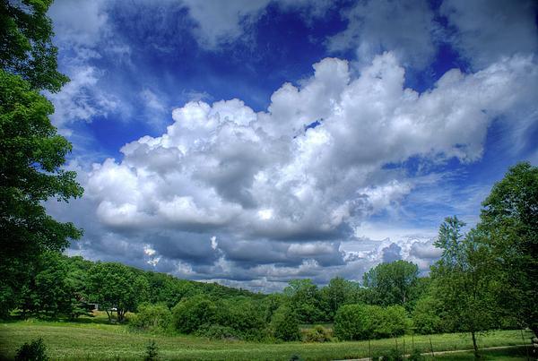 Clouds Print by Matthew Green