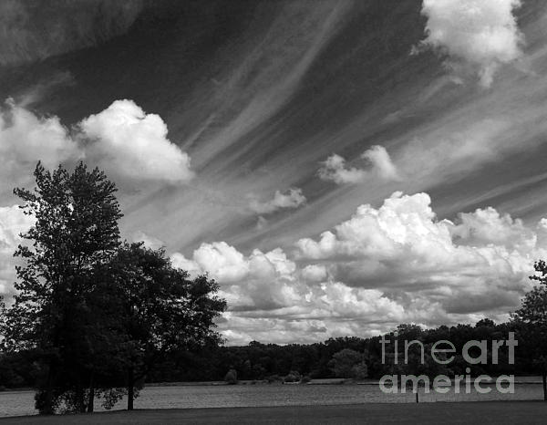 Cedric Hampton - Clouds Over The Lake 1