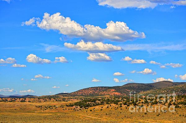Donna Van Vlack - Cloudy Wyoming Sky