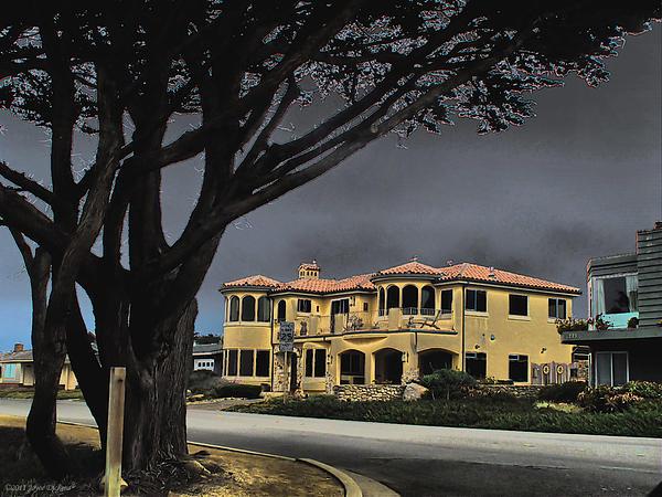 Joyce Dickens - Coastal Architecture One