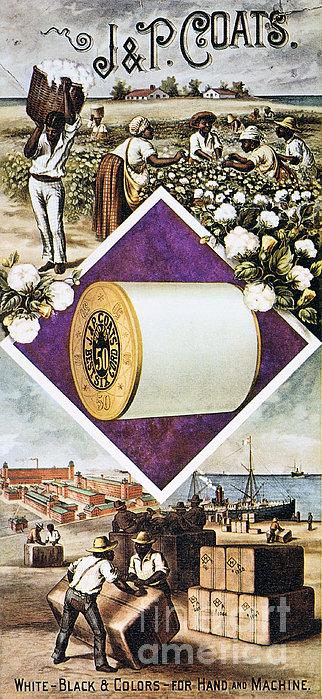 Coats Thread, C1880 Print by Granger