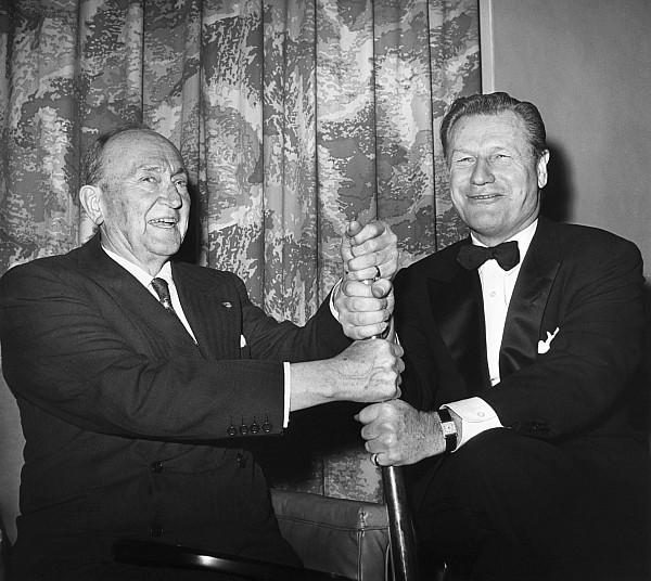 Cobb & Rockefeller, 1960 Print by Granger