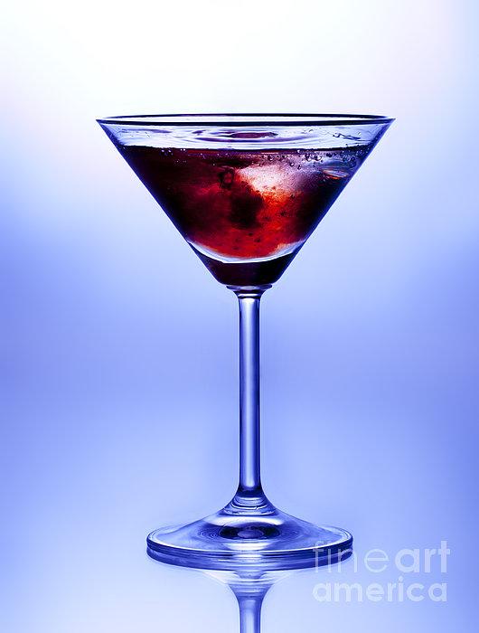 Cocktail Print by Jane Rix
