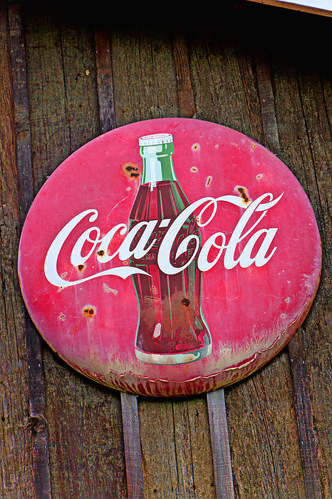 Coco Cola Sign Print by Garry Gay
