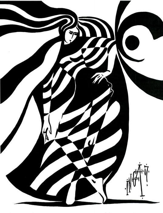 Cocoon Print by Inga Vereshchagina