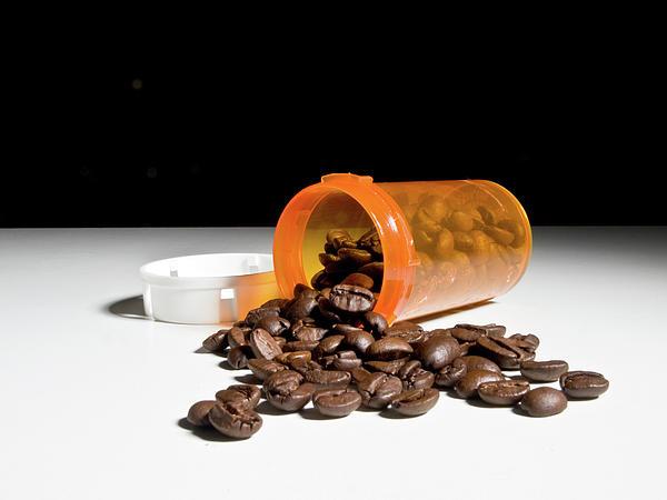Coffee Addiction Print by Jim DeLillo