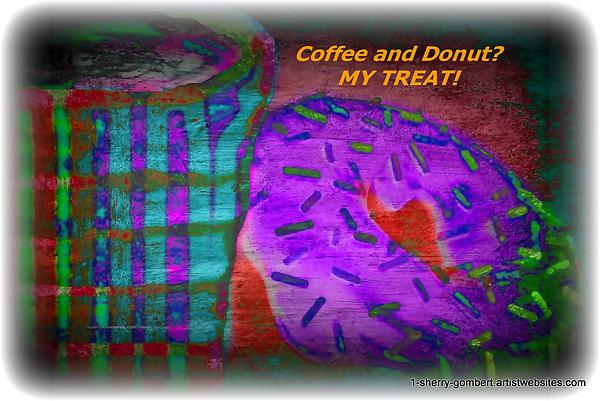 Sherry Gombert - Coffee and Donut